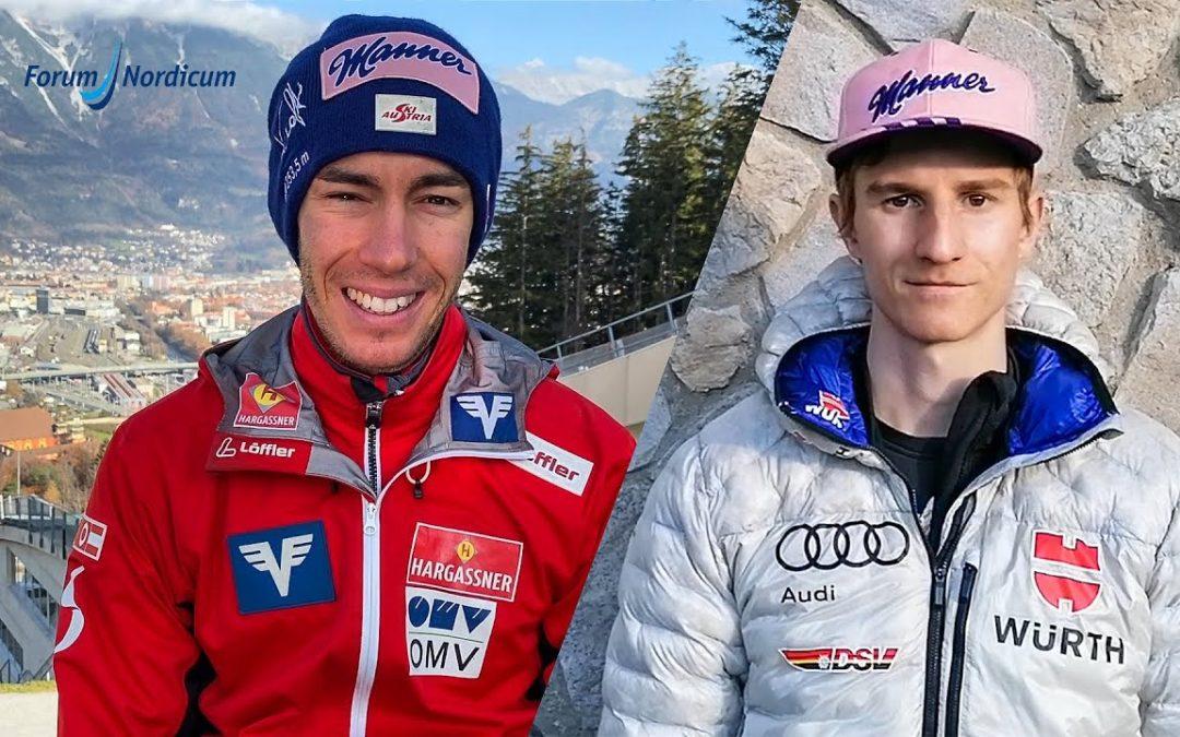 Manner Skijumping Talk mit Karl Geiger und Stefan Kraft | Forum Nordicum